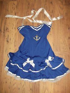 Anne Summers Sailor Dress Up Size M