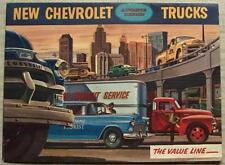 CHEVROLET TRUCK RANGE Sales Brochure USA Panel PICK UP Carryall Suburban STAKE+