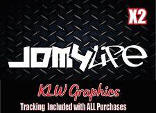 JDM 4 LIFE * Vinyl Decal Sticker Domo Funny Drift Turbo illest Car Windshield
