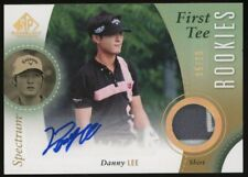 New listing 2013 SP Game Used Golf Spectrum Danny Lee Shirt RPA RC Patch AUTO 5/10
