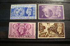 GB 1948 Commemorative Stamps~Olympic Games~Unmounted Mint~UK seller