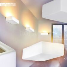 Design Keramik Wand Leuchten Wohn Schlaf Zimmer Flur Lampen bemalbar Up Strahler