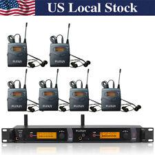 SR2050 IEM Wireless In Ear Monitor System 2 Channel transmitter with 6 bodypack