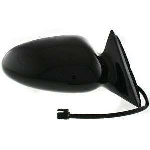 Right RH Mirror Power/Heated Smooth Black fits 2000 2007 Chevrolet Monte Carlo