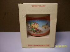 Vintage 1980 Hallmark - Betsey Clark Glass Christmas Ornament