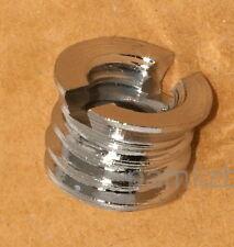 """Tripod Monopod Camera screw  adapter bush ,  3/8"""" to 1/4"""" , free post from UK"""