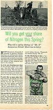 1955 Spencer Mr. N Ammonium Nitrate Fertilizer Farm Print Ad