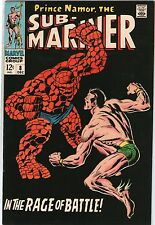 Sub-Mariner #8 Marvel Comics 1968 Namor Vs. Thing J. Buscema VFNM/NM