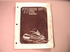1977 Vintage Arctic Cat Lynx Parts Manual