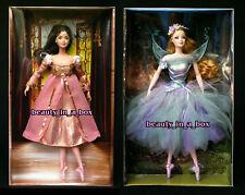 Juliet & Titania NO BOX TOPS and Romeo Ballet Ballerina Barbie Doll Silver Label