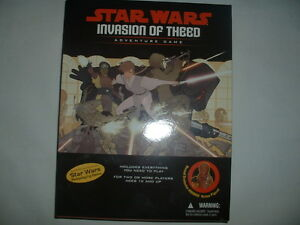 STAR WARS INVASION OF THEED BOARD GAME NEW IN BOX IDEAL PREZZIE