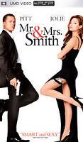 UMD-Movie Mr. and Mrs. Smith playstation portable Brad Pitt Angelina Jolie