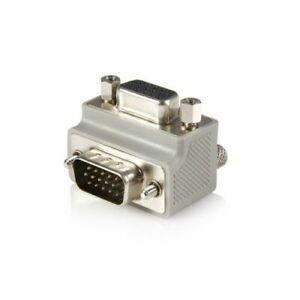 Startech Right Angle VGA To VGA Cable Adapter Type 2 M/F 1 X Hd-15 Male Vga
