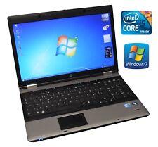 "HP ProBook 6550b 15,6"" i5 540M 2.53GHz 4GB 320GB CAM BLT ATI 1600x900 HD+ Win 7"