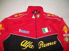 NEU Alfa Romeo ITALY 159 Fan - Jacke schwarz rot  jacket veste jas giacca jakka