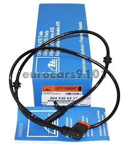 Mercedes-Benz C250 ATE Rear ABS Wheel Speed Sensor 24.0711-6191.3 2045400317