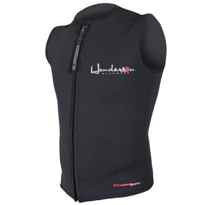 Henderson Man 3mm Thermoprene Zipper Vest Scuba Diving Wetsuit