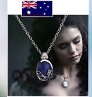 The Vampire Diaries Katherine Pierce Sun Protection Necklace Lapis Lazuli