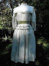 Vintage Antique 1900's Edwardian Taffeta DRESS 32-24-54