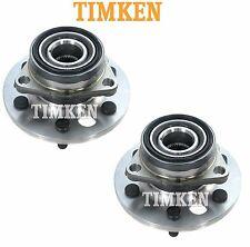 Chevy GMC K-Series 4WD Pair Set of Front Wheel Bearings & Hubs Timken 515001