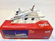 British Airways A380 1:500 Herpa