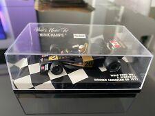Minichamps 1/43 wolf ford wr1 winner Canadian gp 1977 j. scheckter
