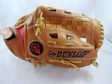 DUNLOP Leather Baseball Mitt Glove 889/108 Right Handed Thrower