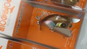 Jackall Top Water Bug MICRO POMPADOUR # Pocchari Wakasagi NEW J233