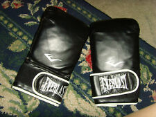VGUC Everlast  Ta: L XL boxing gloves black fighter boxing workout great nice