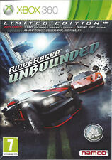 RIDGE RACER UNBOUNDED for Xbox 360 - with box & manual - PAL