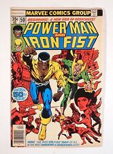 POWER MAN and IRON FIST #50 1978 -- 1st Iron Fist Joins Luke Cage