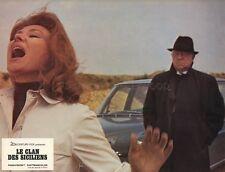 JEAN GABIN  LE CLAN DES SICILIENS 1969 VINTAGE LOBBY CARD ORIGINAL #9