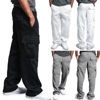 Mens Harem Sweatpants Baggy Cargo Jogger Pants Sports Hip Hop Casual Trousers XL