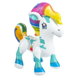 """27"""" White Pony Inflatable - Baby Pony Inflate Blow Up Toy Party Decoration"""