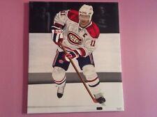 Saku Koivu art giclee Montreal Canadians captain