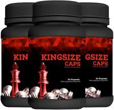 3 X Kingsize Caps Contenu : 60 Gélules Envoi Rapide-