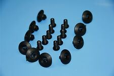 AUDI A4 A6 A8 BLACK PLASTIC SCREW IN SIDE SKIRT PANEL DOOR BUMP SUPPORT CLIPS