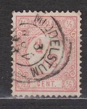 NVPH Netherlands Nederland 30 used TOP CANCEL MIDDELSTUM Cijfer 1876 Pays Bas