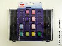 PRYM Spulendose Spulenbox f. 32 Spulen Nähmaschinenspule Nähzubehör Nähen 611980
