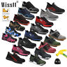 Women's Indestructible Safety Steel Toe Work Labor Boots Breathable Hiking Shoes