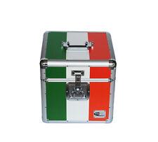 "Neo Zilla 100 LP VINYL 12"" Record DJ Ireland Flag Storage Aluminium DJ Case Box"