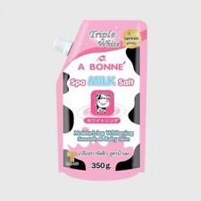 A Bonne Spa Milk Salt Scrub Soft Skin Bleaching Body Whitening Lightening 350g