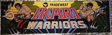 """Ikari Warriors Arcade Marquee 26""""x8"""""""