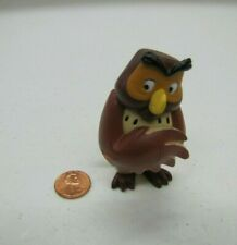 "WISE OWL WINNIE THE POOH 3"" Cake Topper Figure 100 Acre Woods Standing Disney"