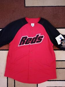 Rare Ken Griffey Jr Cincinnati Reds Majestic Jersey with Tags Attached