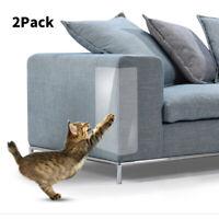 2X Pet Cat Couch Anti-Scratching Protector Set Sofa Furniture Scratch Guard US