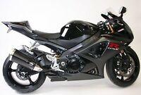 R&G Black Crash Protectors - Aero Style for Suzuki GSX-R1000 2007 K7