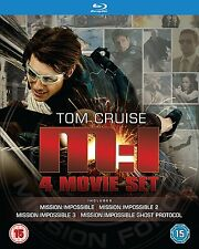 Mission Impossible Blu-ray Four Movie Set Includes Ghost Protocol - BRAND NEW