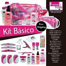 Fantasy nails Kit basico para el cuidado de uñas