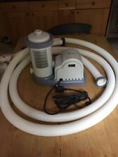 Intx Krystal Clear Filter Pump 636, Filter and 2* 3 metre Pipes